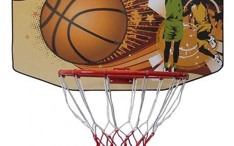 CorbySport 5281 Basketbalová deska 90 x 60 cm s košem