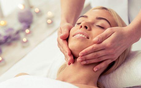 Indická masáž hlavy, krku, ramen a horní části paží