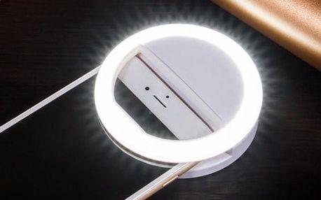 Selfie LED světlo na chytrý telefon