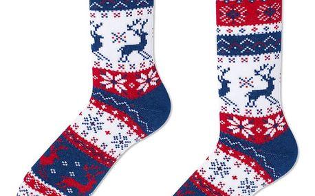 Ponožky Many Mornings Rudolph,vel. 35–38