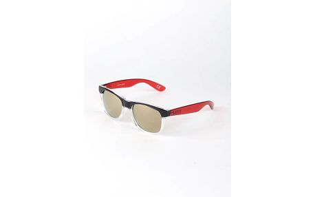 Brýle Vans Mn Spicoli 4 Shades Clear/Black Červená