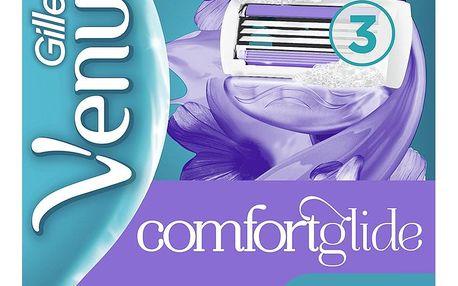 GILLETTE Venus ComfortGlide Breeze CRT 4 ks - náhradní hlavice