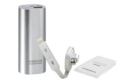 RivaCase RivaPower VA1005 5000mAh (RP-VA1005) stříbrná