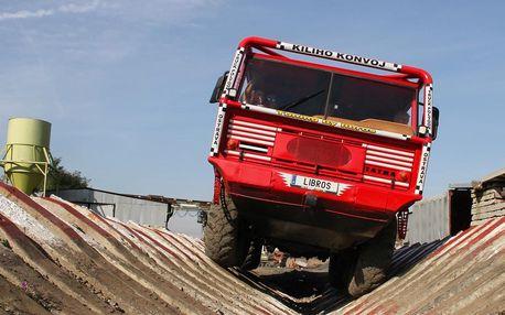 Drtivá jízda v kabině giganta Tatra 813 8x8