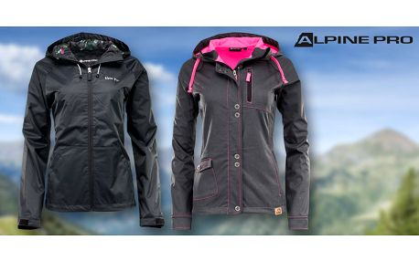 Dámská jarní nebo softshellová bunda Alpine Pro