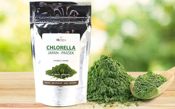 Chlorella Japan v prášku: zdroj vitamínů a živin