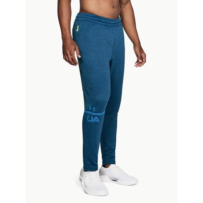 Tepláky Under Armour Tech Terry Tapered Pant Modrá