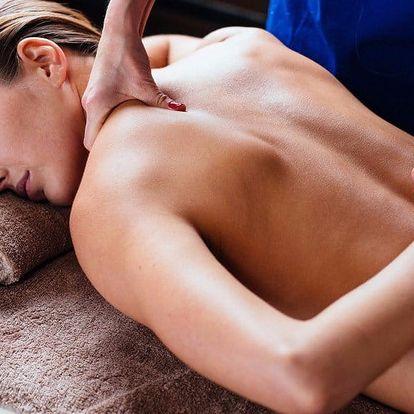 Masáž zad, šíje a rukou pro bolavé tělo