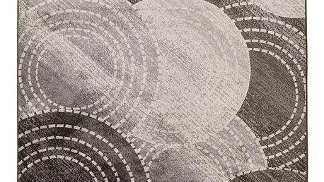 Šedý koberec Universal Belga, 140 x 200 cm