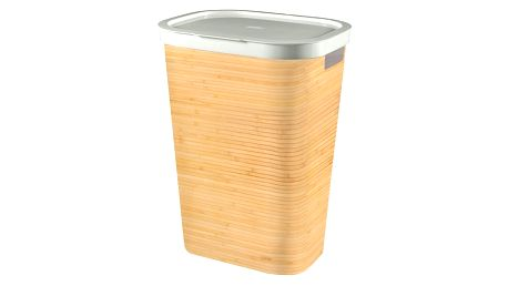 Curver Koš na špinavé prádlo Infinity Bambus 59 l