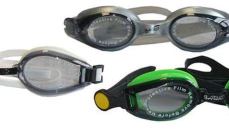 CorbySport 5577 Brýle plavecké závodní silikonové