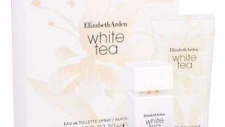 Elizabeth Arden White Tea dárková kazeta pro ženy toaletní voda 50 ml + tělový krém 100 ml