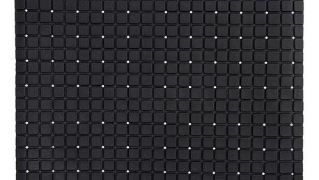 Koopman Protiskluzová podložka do koupelny černá, 55 x 55 cm