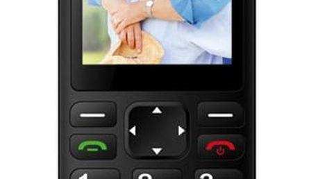 Mobilní telefon CPA Halo PLUS černý (TELMY1017BK)