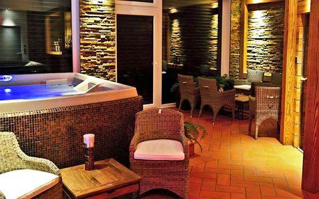 Privátní relax v luxusním wellness a prosecco