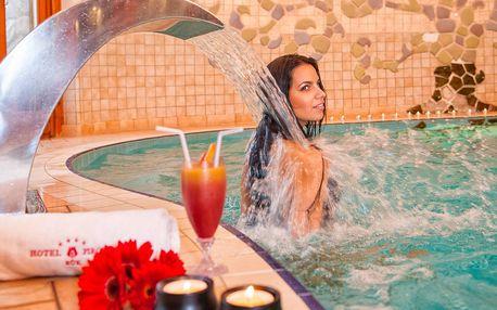 Hotel Piroska**** v lázních Bükfürdö s wellness a polopenzí