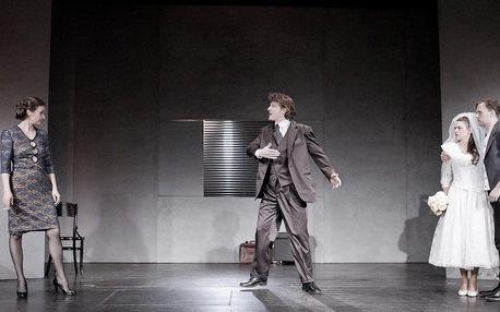 Vstupenka na divadelní představení Absolvent