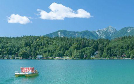 Aktivní dovolená u nejteplejšího jezera Rakouska