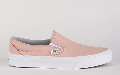 Boty Vans Ua Classic Slip-On (Leather) Ox Růžová