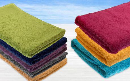 Osušky a ručníky vyrobené ze 100% bavlny