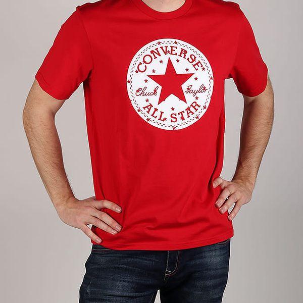 Tričko Converse ChckP Star Fill Tee Červená