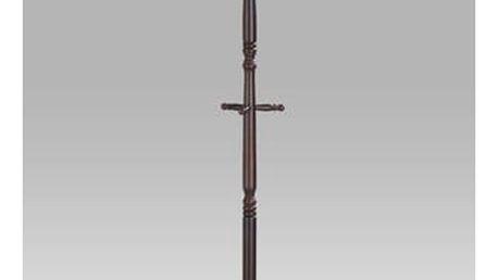 Věšák, v. 180 cm, barva ořech