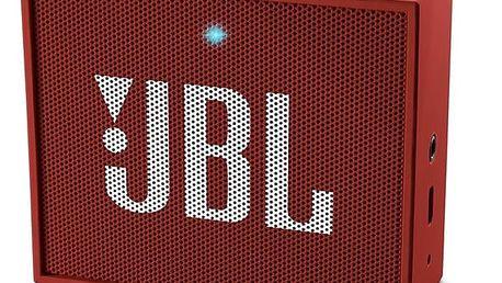 Přenosný reproduktor JBL GO červený