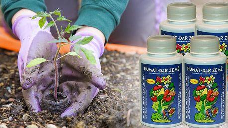 Humát: rašelinový přípravek pro zvýšení sklizně