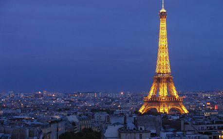 4-denní poznávací zájezd do Paříže