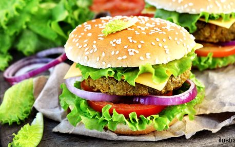 Lahodné vegan burgery z čerstvých surovin
