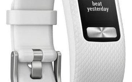 Monitorovací náramek Garmin vívofit 4 (velikost S/M) bílé (010-01847-11)