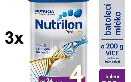 Nutrilon 4 Profutura od ukončeného 24. měsíce, 800g x 3ks
