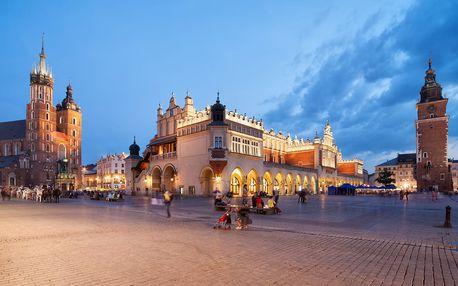 Cenově nenáročné ubytování v Krakově pro dva