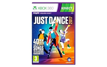 Hra Ubisoft Xbox 360 Just Dance 2017 (3307215967713)