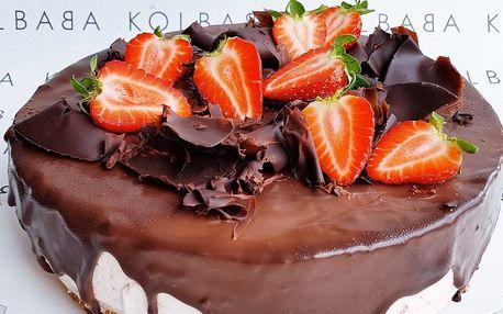 Míša nebo smetanovo-višňový dort od Kolbaby