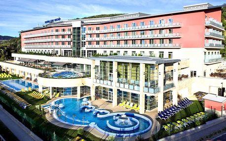 Maďarsko - Thermal hotel Visegrád****, luxusní wellness hotel blízko ČR, polopenze, po celý rok