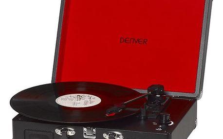 Gramofon Denver VPL-120 černý (dvpl120b)