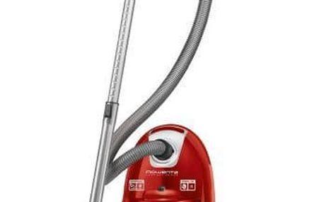 Vysavač podlahový Rowenta Compact Power RO3953EA červený
