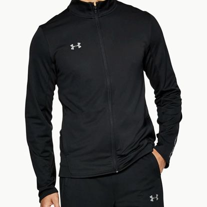 Souprava Under Armour Challenger II Knit Warm-Up Černá