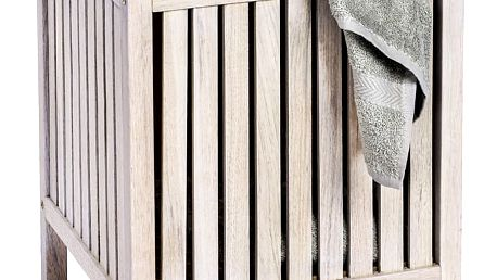 Taburet NORWAY, koš na prádlo - 2v1, WENKO