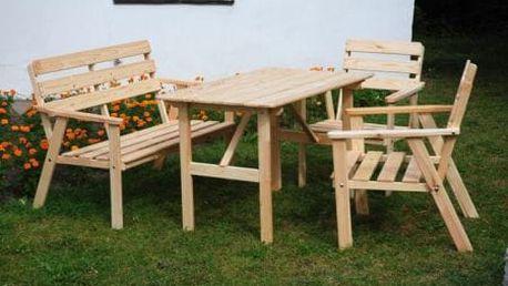 Tradgard NORDIC 2734 Zahradní dřevěný set FSC