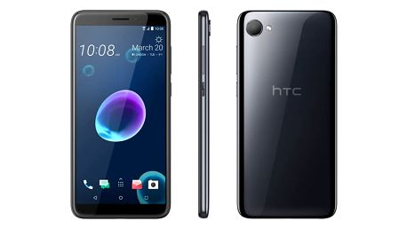 Mobilní telefon HTC Desire 12 Dual SIM černý (99HAPD004-00)