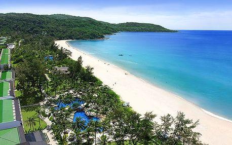 Thajsko - Phuket na 6 dní, plná penze, polopenze nebo snídaně s dopravou letecky z Vídně