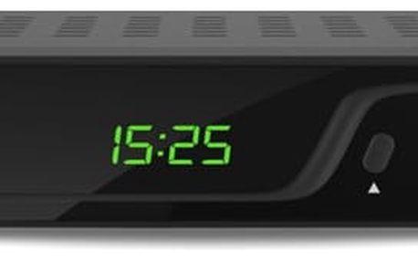 Evolveo Omega T2, HD DVB-T2 H.265/HEVC multimediální rekordér, HDMI, SCART, USB