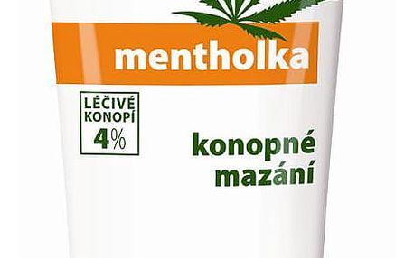 Cannaderm Konopná mentholka - chladicí masážní gel 200 g