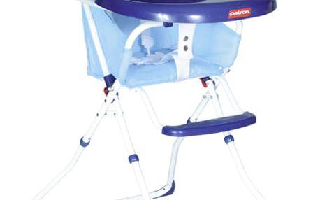 PATRON Jídelní skládací židlička Bee 2018 – owl blue