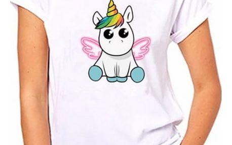 Dámské tričko s jednorožcem - 26 variant