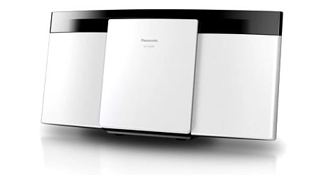 Mikrosystém Panasonic SC-HC295EG-W bílý