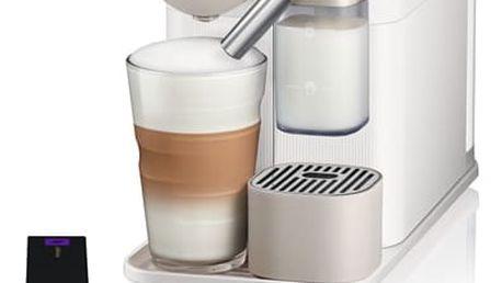 Espresso DeLonghi Nespresso Lattissima EN500.W bílé/béžové