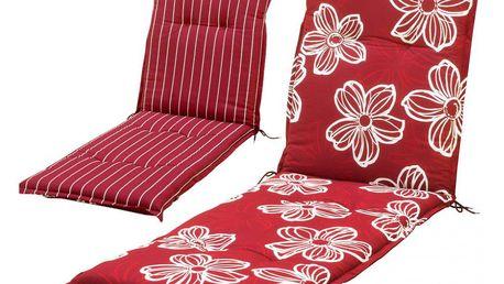 sun garden NAXOS LIEGE 35516 Polstrování na lehátko - červená